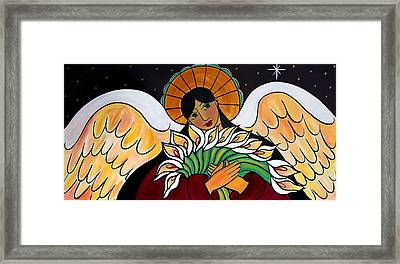 The Angel Of The Resurrection Framed Print