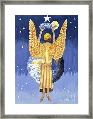 The Angel Of The World Framed Print