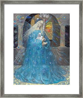 The Angel Of Truth Framed Print by Annael Anelia Pavlova