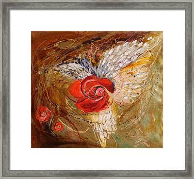 The Angel Wings #7. Mistery Of Three Keys Framed Print by Elena Kotliarker