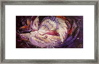 The Angel Wings #8 The Dance Of Spirit Framed Print