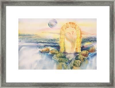 The Angel Within Framed Print by Tara Moorman