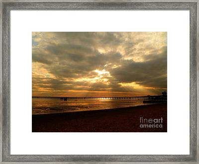 The Angels Are Calling Framed Print