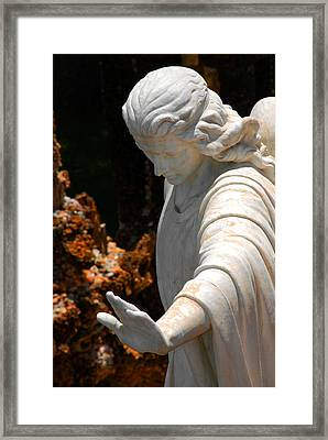 The Angels Warning Framed Print by Susanne Van Hulst