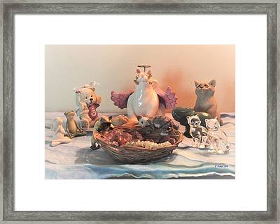 The Animal's United Conference For World Peace Framed Print