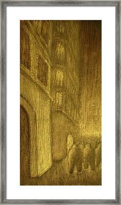 The Annex Framed Print by Jaylynn Johnson