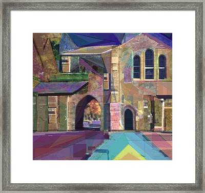 The Annex Framed Print