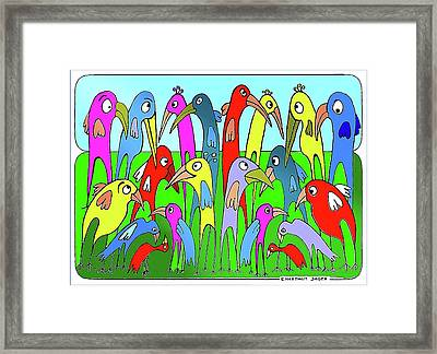 The  Annual General Meeting Framed Print