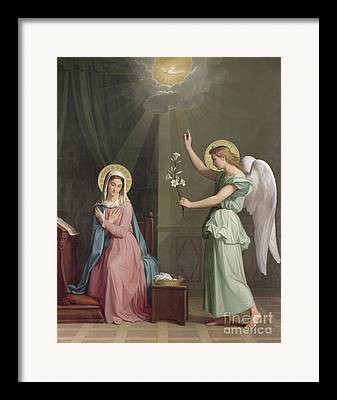 Annunciation Framed Prints