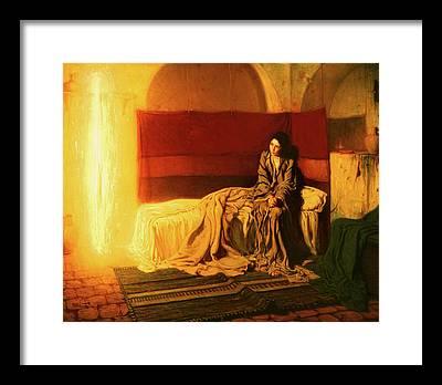 Annunciation Framed Prints