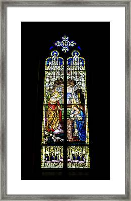 The Annunciation - St Mary's Church Framed Print by Stephen Stookey