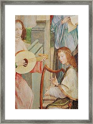 The Annunciation Framed Print by Taborda Vlame Frey Carlos
