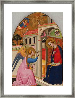 The Annunciation Framed Print by Tommaso Del Mazza