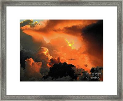 The Answer Is Out There Framed Print