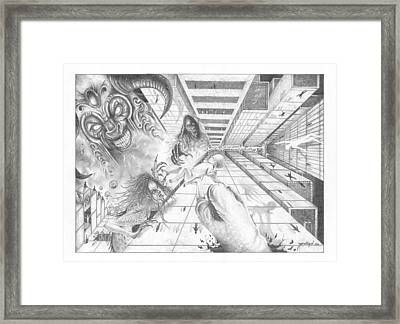 The Antichrist Framed Print by Julian  B