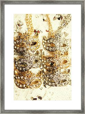 The Antique Jewellery Store Framed Print