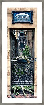 The Antique South Framed Print