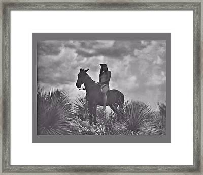 The Apache Scout Framed Print
