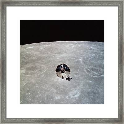 The Apollo 10 Command And Service Framed Print by Stocktrek Images