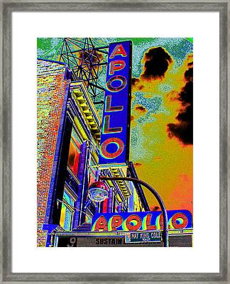 The Apollo Framed Print by Steven Huszar