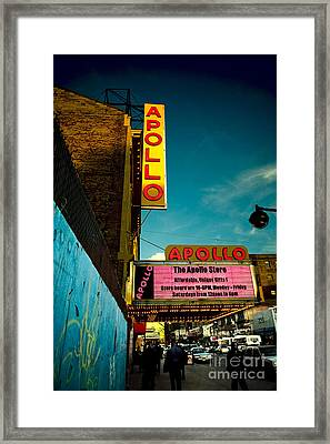 The Apollo Theater Framed Print