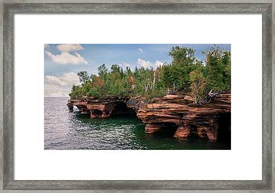 The Apostle Islands Framed Print