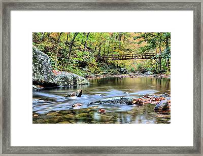 The Appalachian Trail Framed Print by JC Findley