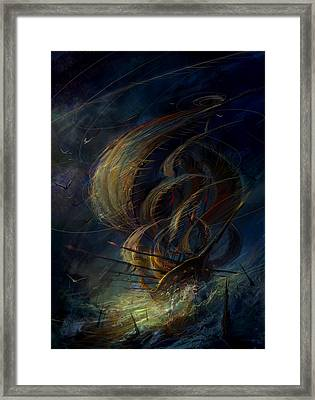 The Apparation Framed Print by Philip Straub