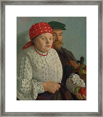 The Apple Woman And Her Husband Framed Print