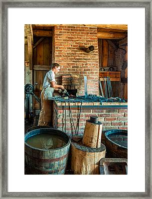 The Apprentice 3 Framed Print