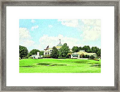 The Approach - Digital Painting Framed Print