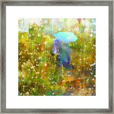 The Approach Of Autumn Framed Print
