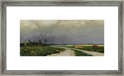 The Approaching Framed Print