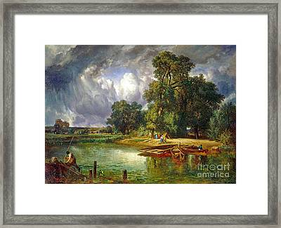 The Approaching Storm Framed Print