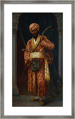 The Arab Guard Framed Print