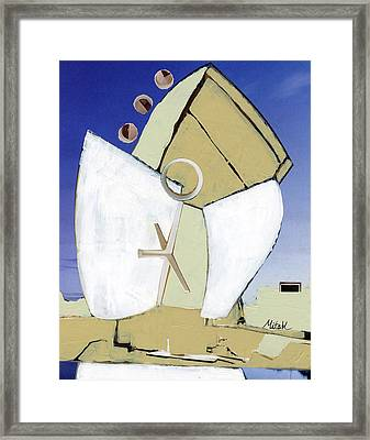 The Arc Framed Print by Michal Mitak Mahgerefteh