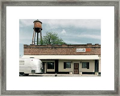 Framed Print featuring the photograph The Arcade by Nicholas Blackwell