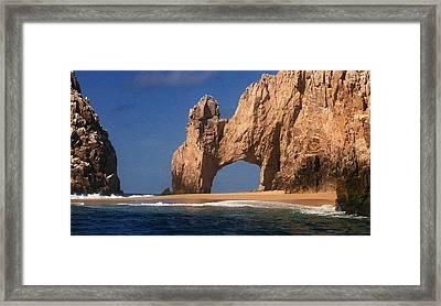 The Arch Framed Print by Marna Edwards Flavell