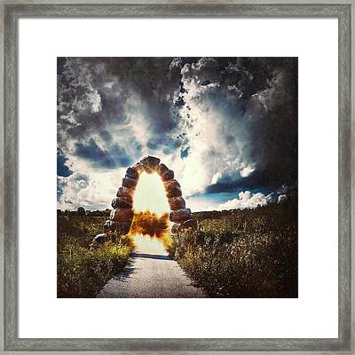 The Arch On The Edge Of Forever Framed Print