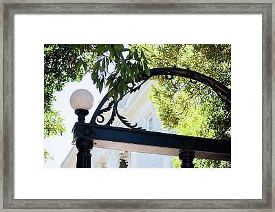 Framed Print featuring the photograph The Arch by Parker Cunningham