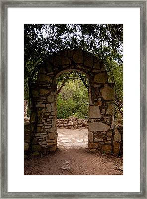 The Arch Framed Print by Siobhan Yost