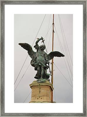 The Archangel Michael Framed Print by JAMART Photography