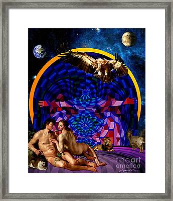 The Archangel Night Framed Print