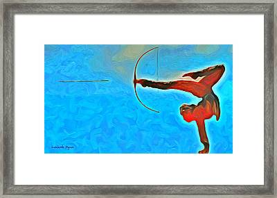 The Archer - Da Framed Print