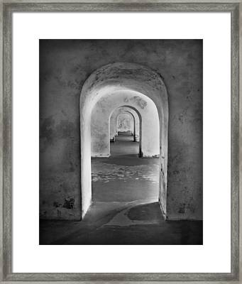 The Arches 2 Framed Print by Perry Webster