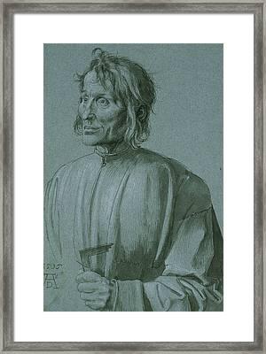 The Architect Hieronymus Von Augsburg Framed Print