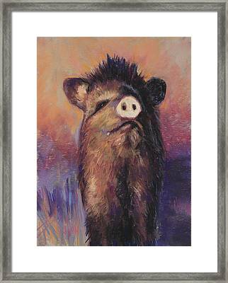 The Aristocrat Framed Print by Billie Colson