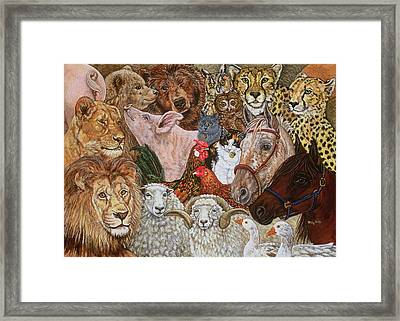 The Ark Spread Framed Print by Ditz