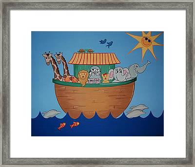 The Ark Framed Print