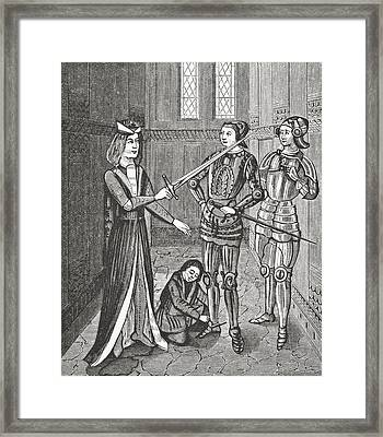 The Arming Of A Knight After The Framed Print